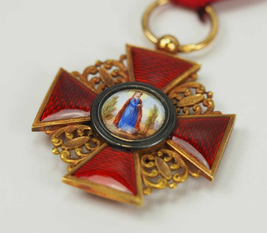 Russia: order of St. Anna, 2. Model (1810-1917), 3. Class. - photo 2