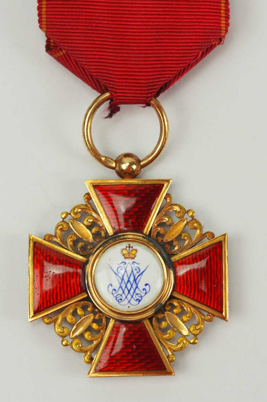 Russia: order of St. Anna, 2. Model (1810-1917), 3. Class. - photo 3