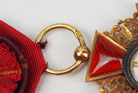 Russia: order of St. Anna, 2. Model (1810-1917), 3. Class. - photo 4