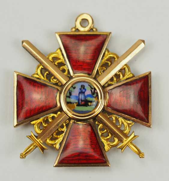 Russia: order of St. Anna, 2. Model (1810-1917), 3. Class with swords. - photo 1