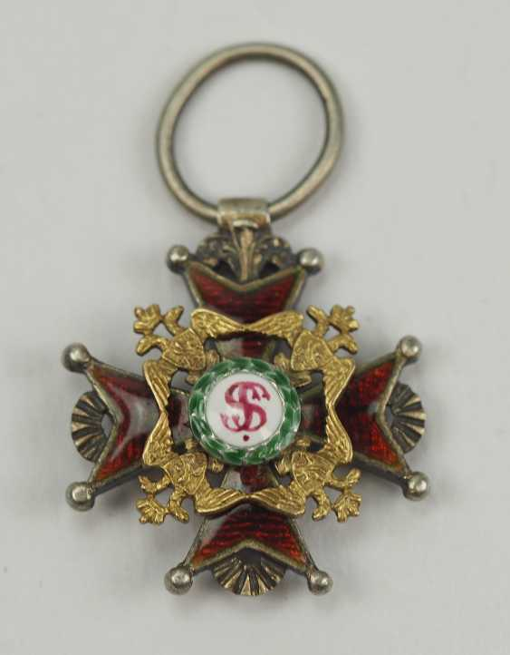 Russia: Imperial and Royal order of Saint Stanislaus, 2. Model, 1. Type (1831-1841), Reduction. - photo 1