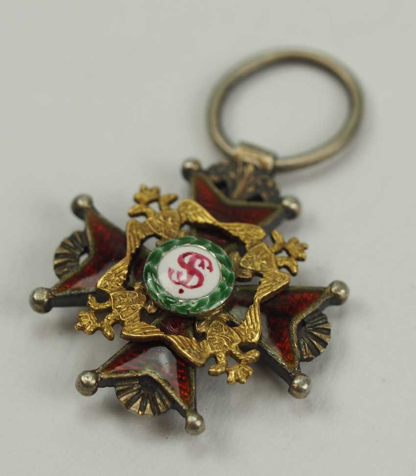 Russia: Imperial and Royal order of Saint Stanislaus, 2. Model, 1. Type (1831-1841), Reduction. - photo 2