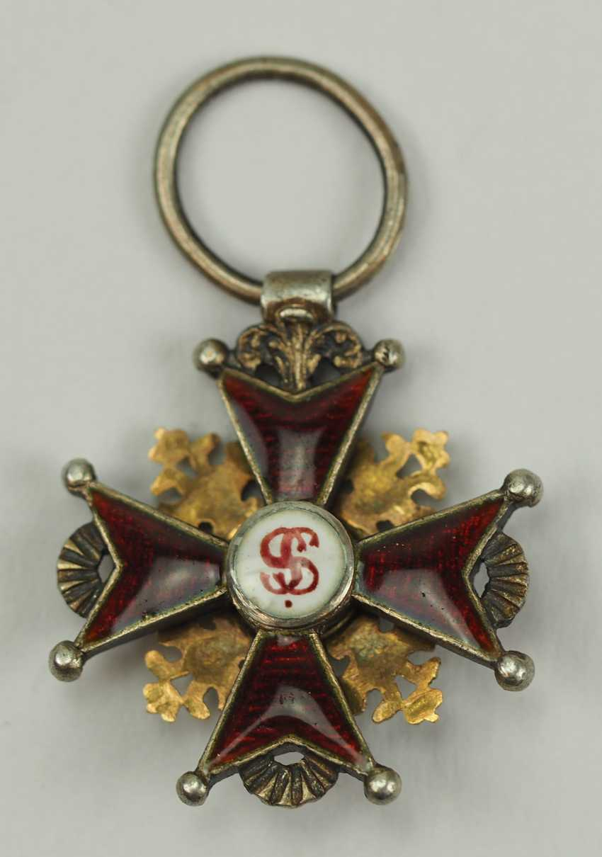 Russia: Imperial and Royal order of Saint Stanislaus, 2. Model, 1. Type (1831-1841), Reduction. - photo 3