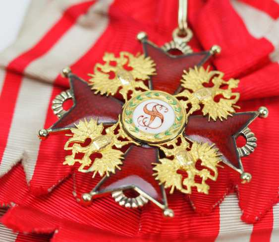 Russia: Imperial and Royal order of Saint Stanislaus, 2. Model, 2. Type (approx. 1841-1917), 1. Class Gem. - photo 2