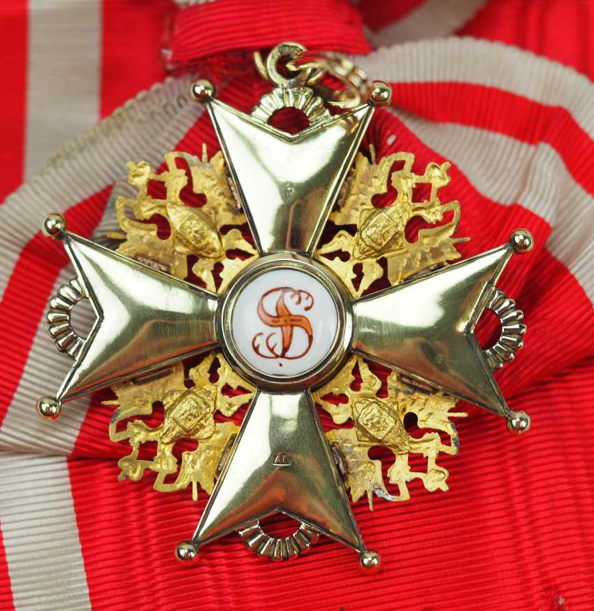 Russia: Imperial and Royal order of Saint Stanislaus, 2. Model, 2. Type (approx. 1841-1917), 1. Class Gem. - photo 3