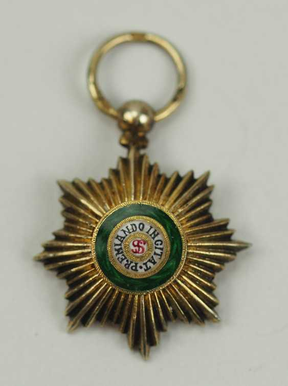 Russia: Imperial and Royal order of Saint Stanislaus, 2. Model, 2. Type (approx. 1841-1917), 1. Class Star Thumbnail. - photo 1