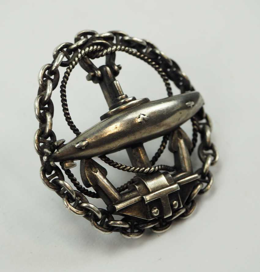 Russia: badge of the Navy Department to the officer-U-boat-class. - photo 2