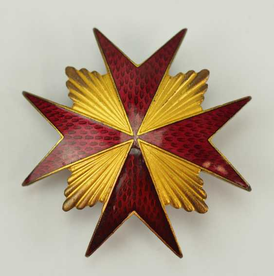 Russia: badge of the Imperial guard Cossack Regiment of his Majesty. - photo 1