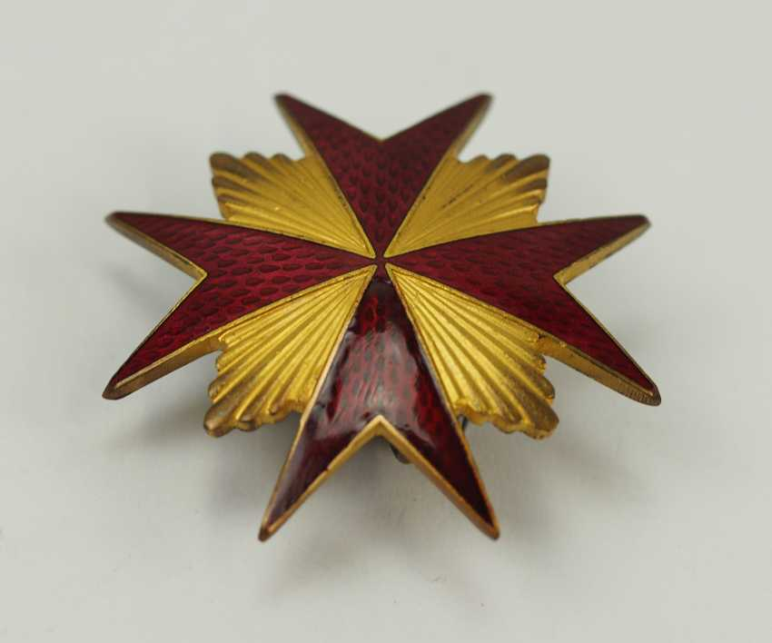 Russia: badge of the Imperial guard Cossack Regiment of his Majesty. - photo 2