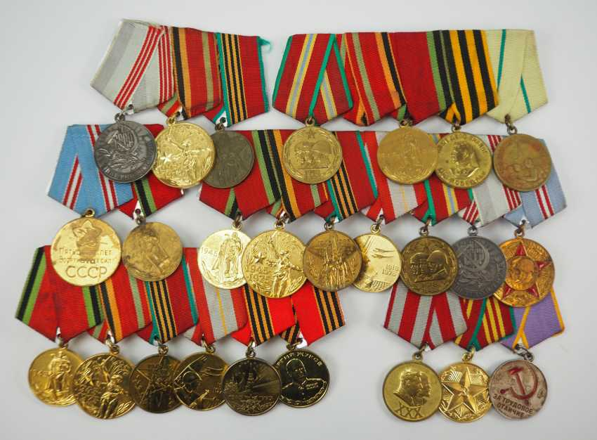 Soviet Union: Lot of 5 order of buckles. - photo 1