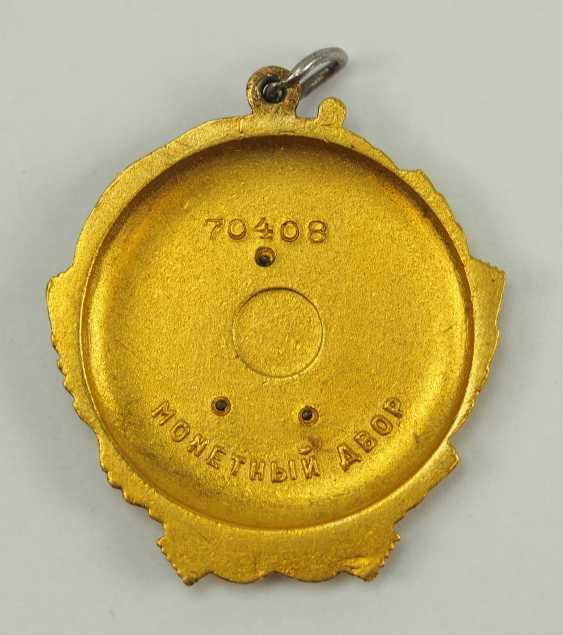Soviet Union: Order Of Lenin, 5. Model, 1. Type. - photo 3