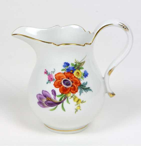 Meissen Cream Jug *Flower 4* - photo 1