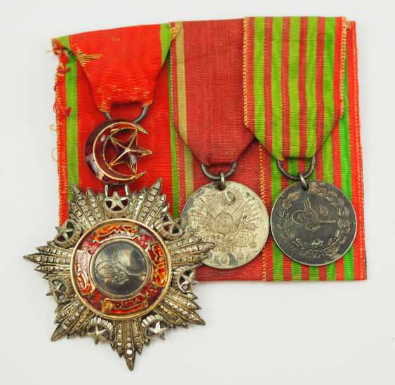 Turkey: Medalbar of an officer and Greece campaign veterans. - photo 1