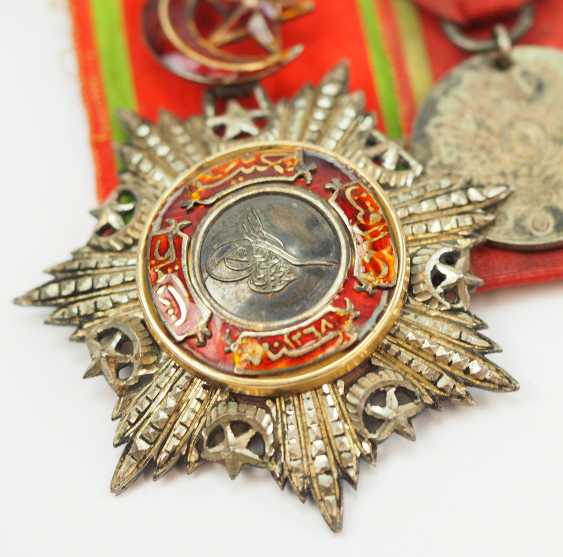 Turkey: Medalbar of an officer and Greece campaign veterans. - photo 2