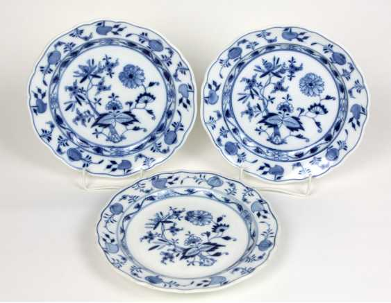 Meissen 3 Onion Pattern Plate - photo 1