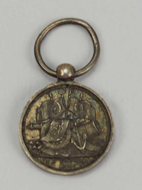 Turkey: Crimea War Medal Miniature. - photo 2