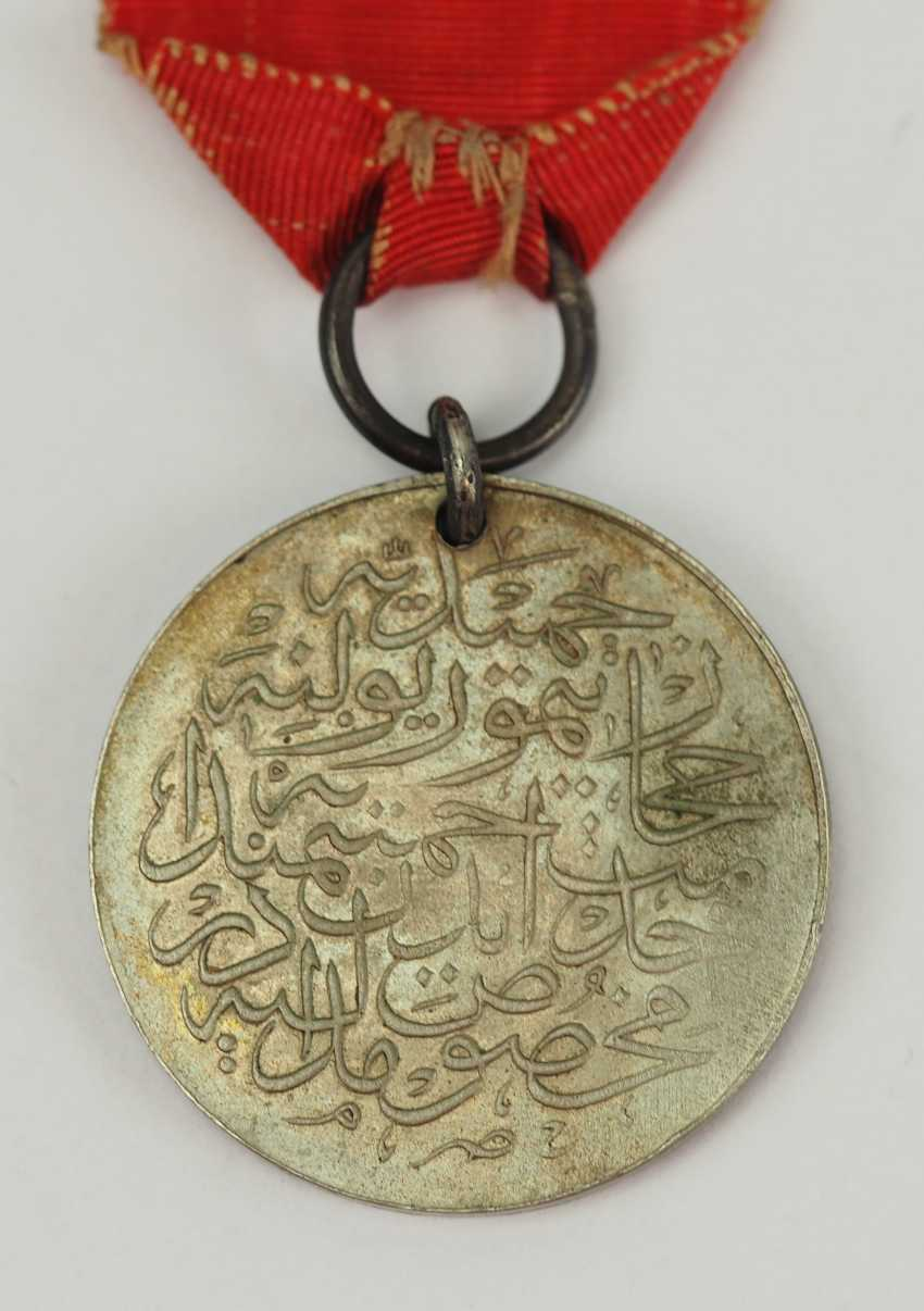 Turkey: medal for memory to the construction of the Hejaz railway, in silver. - photo 2