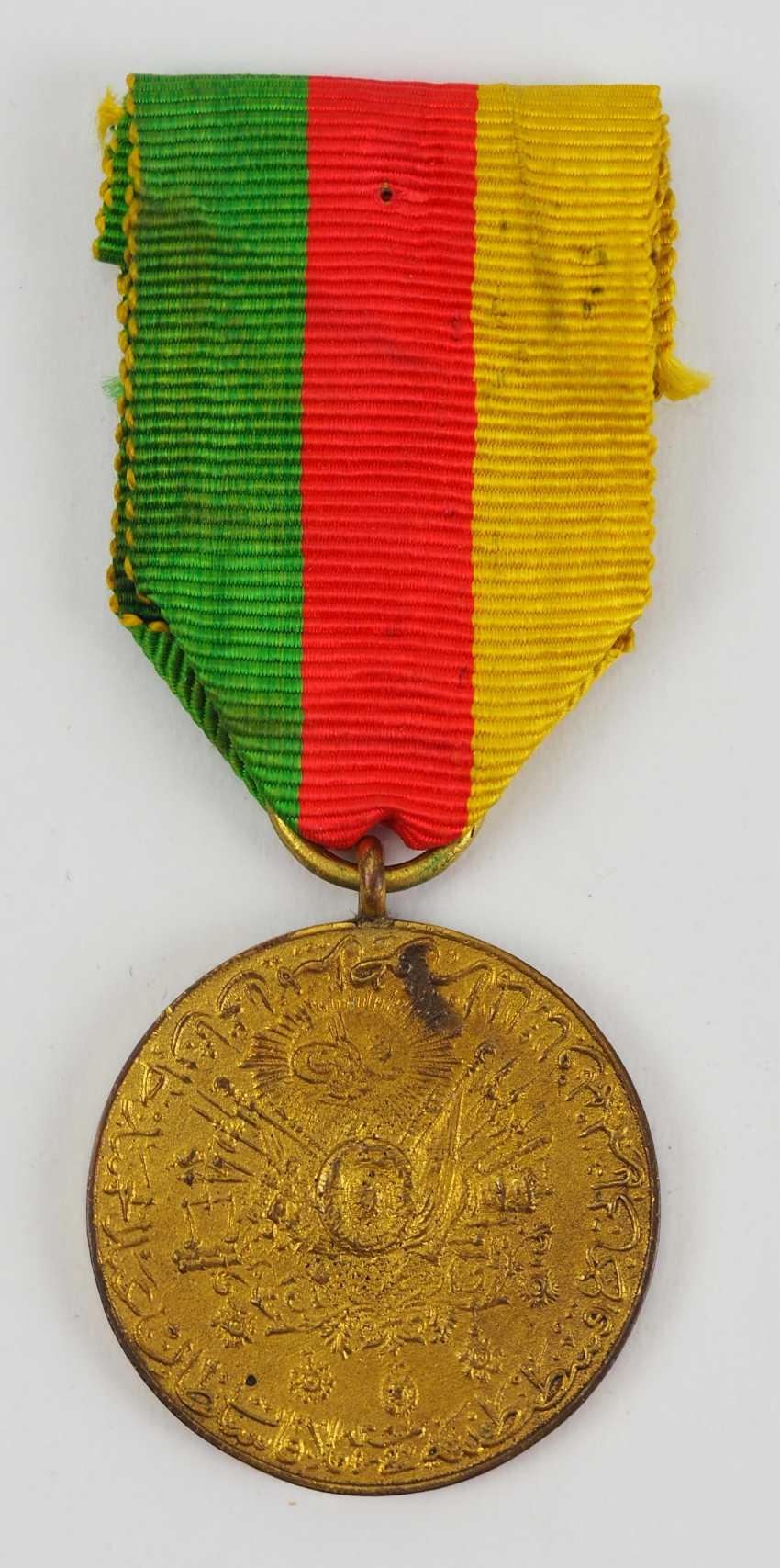 Turkey: medal for the visit of Kaiser Wilhelm II in Constantinople in 1889. - photo 1
