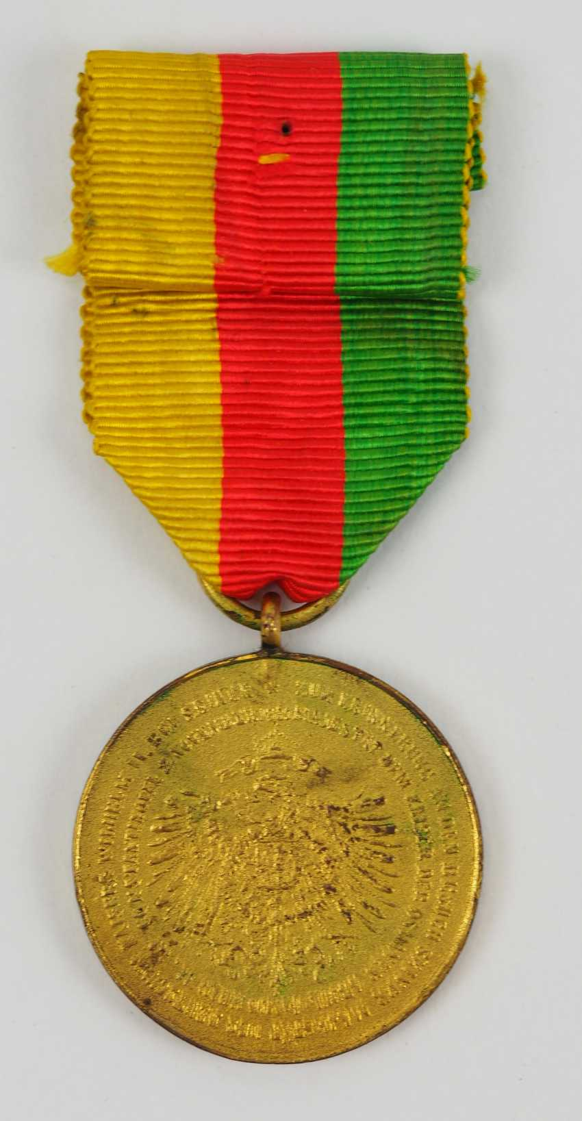 Turkey: medal for the visit of Kaiser Wilhelm II in Constantinople in 1889. - photo 3