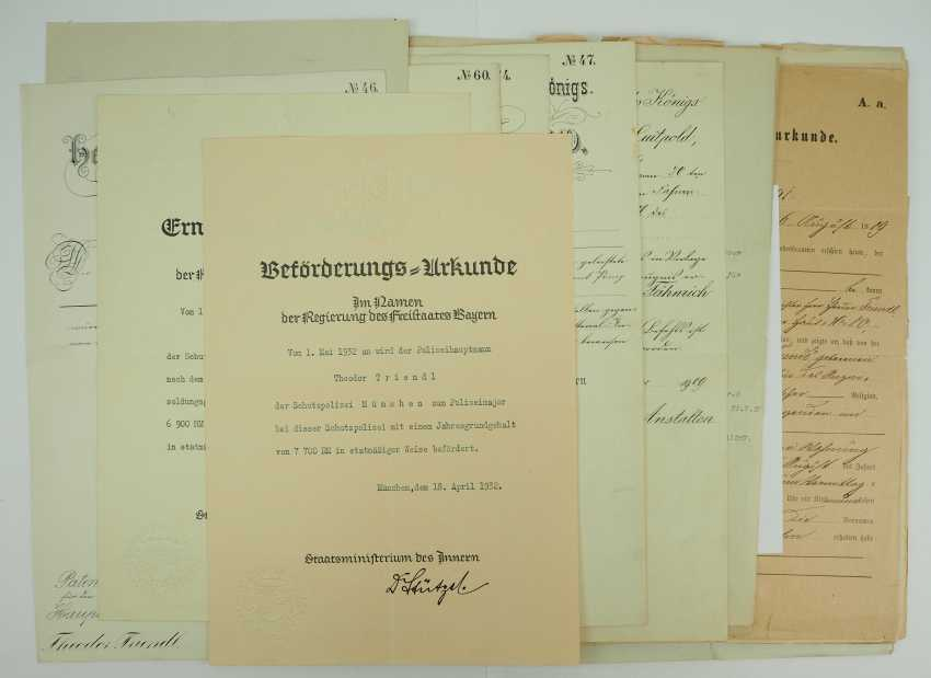 Bavaria: deed estate of the Lieutenant-General and pilot-observer-officer in the field plane-Department 6b. - photo 6