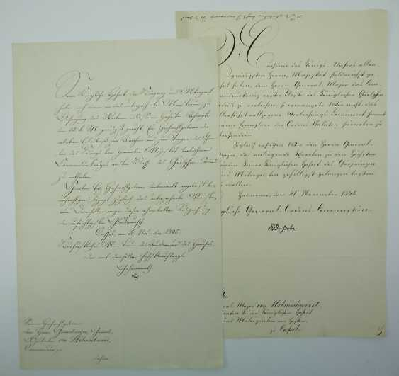 Hannover: Guelph-Order, Commanders Cross, 1. Class award writing for a major General. - photo 1