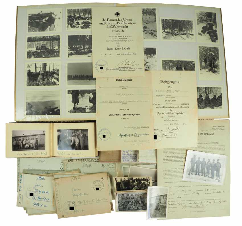 "Estate of a corporal of the 15. (le.)/ Lehr-Regiment ""Brandenburg"" z. b. V. - photo 1"