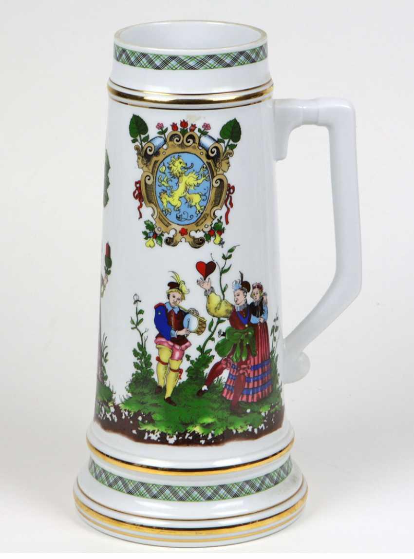 great Skatblatt beer mug - photo 1