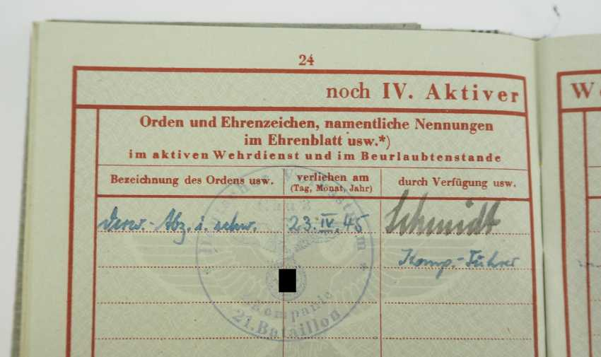 Estate of a group leader of the Volkssturm-Btl. 3/21/1 - Gau Berlin. - photo 5