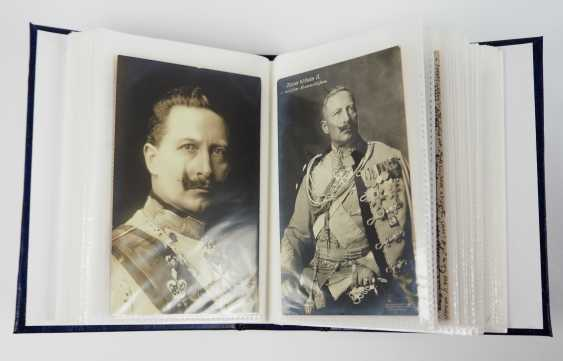 Prussia: Emperor William II and family collection of post cards. - photo 1