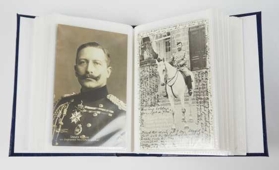 Prussia: Emperor William II and family collection of post cards. - photo 2