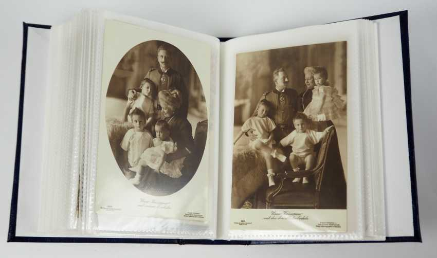 Prussia: Emperor William II and family collection of post cards. - photo 3