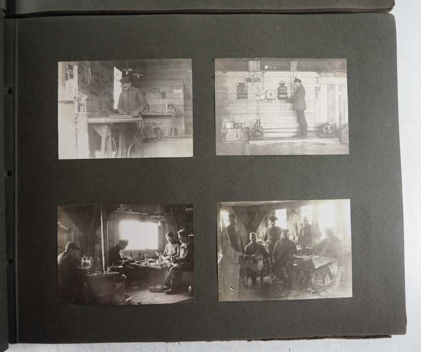 1. World war II: Lot of 2 photo albums of the pilots-observers Ludwig Brauer - hunting season 2 / stages-plane-Park-7. - photo 2