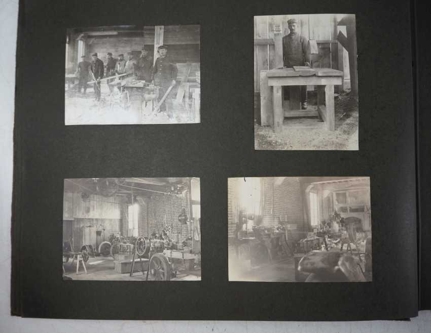 1. World war II: Lot of 2 photo albums of the pilots-observers Ludwig Brauer - hunting season 2 / stages-plane-Park-7. - photo 3