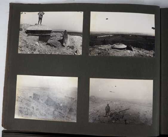 1. World war II: Lot of 2 photo albums of the pilots-observers Ludwig Brauer - hunting season 2 / stages-plane-Park-7. - photo 6