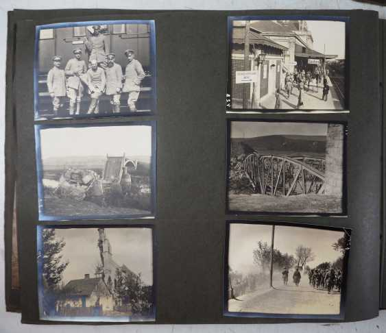 1. World war II: Lot of 2 photo albums of the pilots-observers Ludwig Brauer - hunting season 2 / stages-plane-Park-7. - photo 7