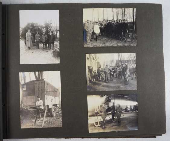 1. World war II: Lot of 2 photo albums of the pilots-observers Ludwig Brauer - hunting season 2 / stages-plane-Park-7. - photo 9