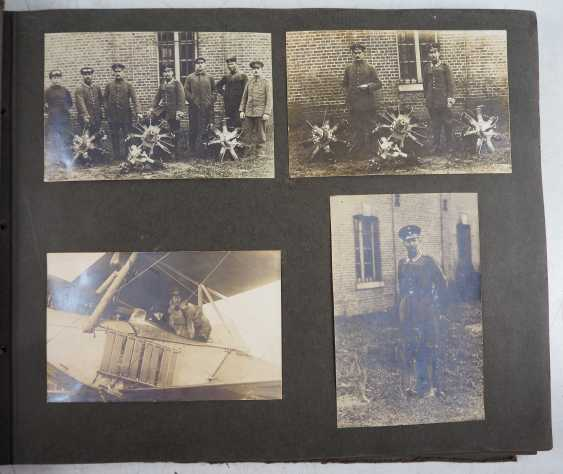 1. World war II: Lot of 2 photo albums of the pilots-observers Ludwig Brauer - hunting season 2 / stages-plane-Park-7. - photo 10