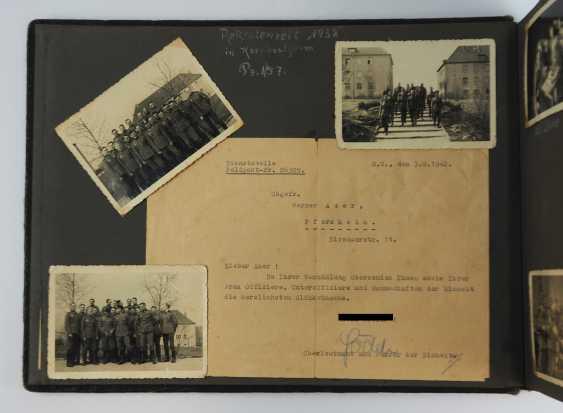 Photo album of an under officer of 1./ Tank-News Dept. 82. - photo 4