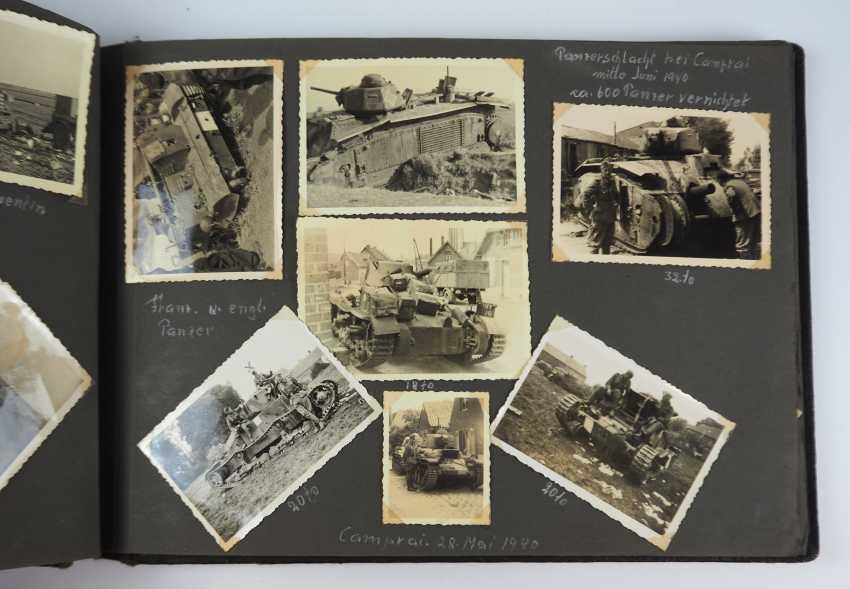 Photo album of an under officer of 1./ Tank-News Dept. 82. - photo 10