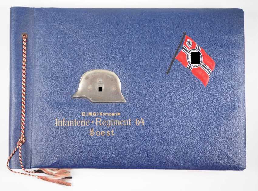 Photo album of the 12. (M. G.) Kompanie, Infantry Regiment 64 (Soest). - photo 1