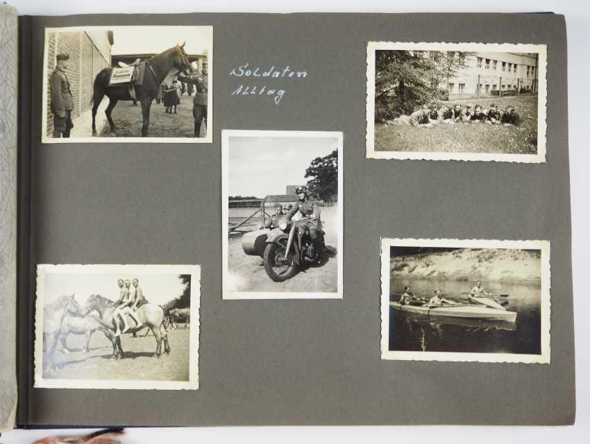 Photo album of the 12. (M. G.) Kompanie, Infantry Regiment 64 (Soest). - photo 2