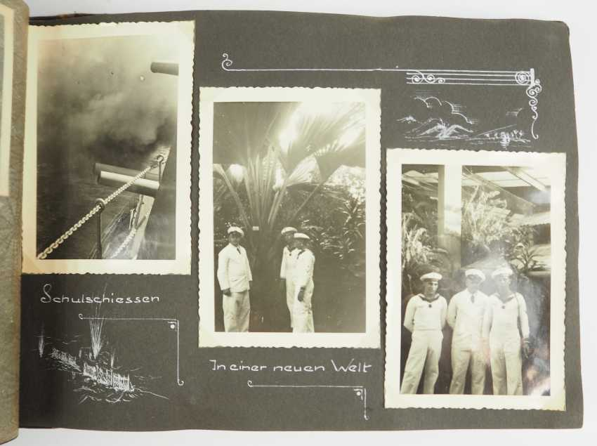 "Photo album of a member of the crew of the battleship ""Silesia"". - photo 1"