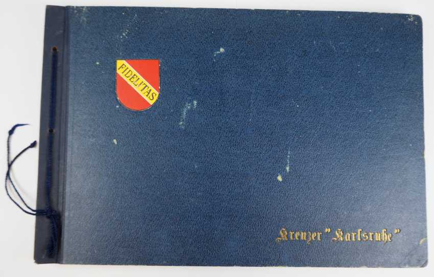 "Photo album of the cruiser ""Karlsruhe"". - photo 1"