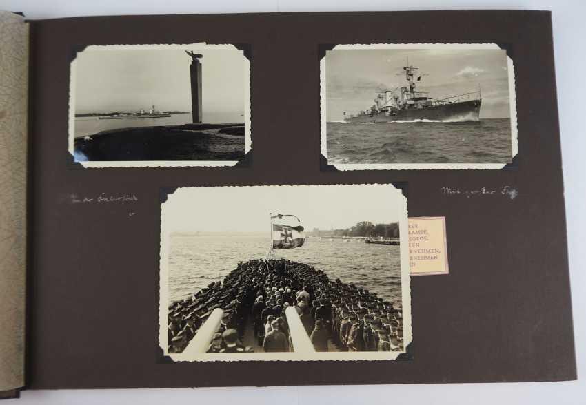 "Photo album of the cruiser ""Karlsruhe"". - photo 2"