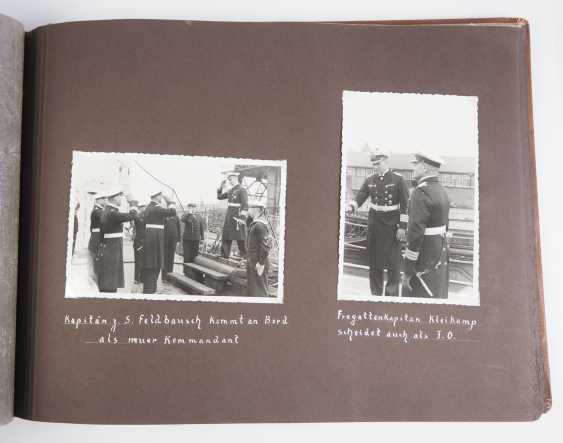 """Photo album of the trip abroad of the line ship """"Schleswig-Holstein"""" 1936/37. - photo 6"""