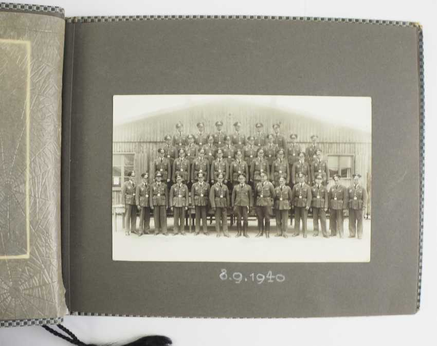 Photo album of the 4. Battery, Flak-Regiment 5 - Munich, 1937. - photo 2