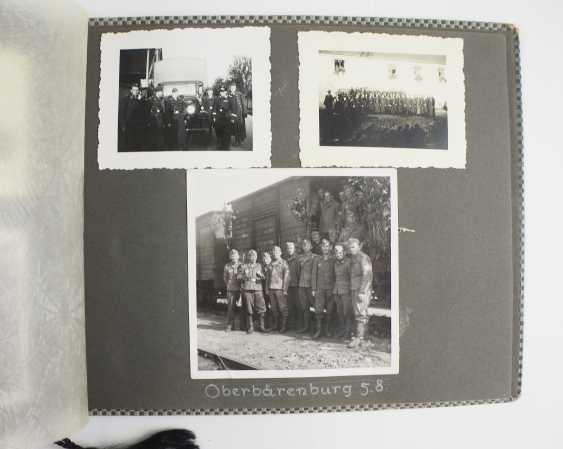 Photo album of the 4. Battery, Flak-Regiment 5 - Munich, 1937. - photo 3