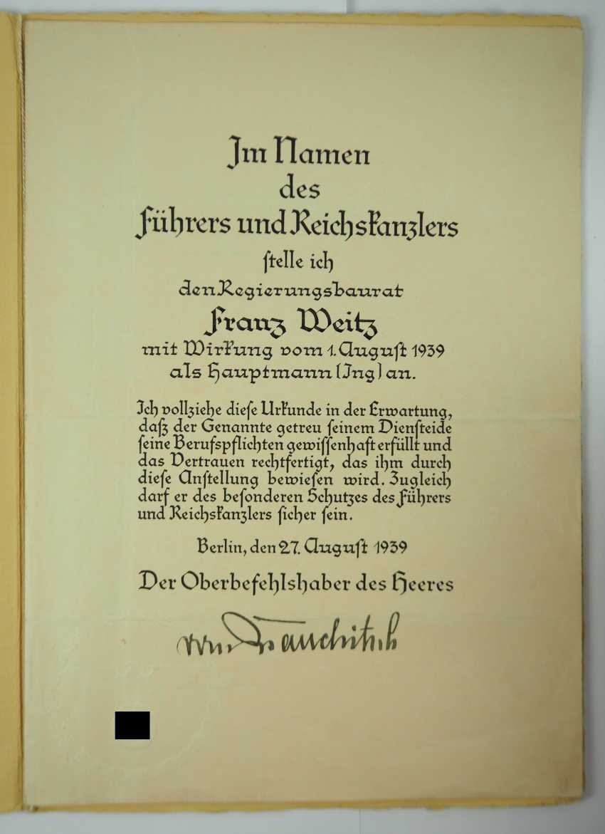 v. Brauchitsch, Walther. - photo 1