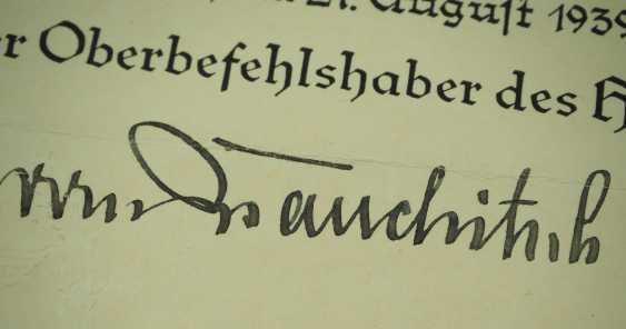 v. Brauchitsch, Walther. - photo 2