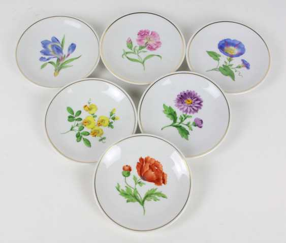 Meissen Set Of Wall Plates *Flower 1* - photo 1